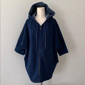America Apparel denim swing jacket